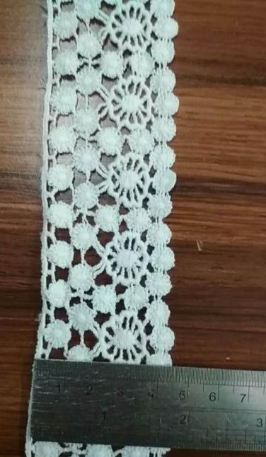 pomp-pomp lace for lady's wear