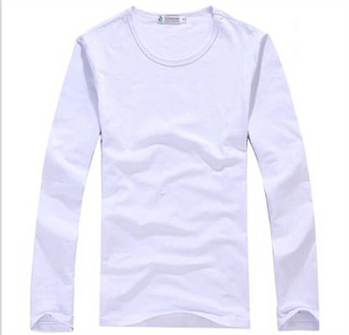 Male money more classic long-sleeved cotton long sleeve T-shirt