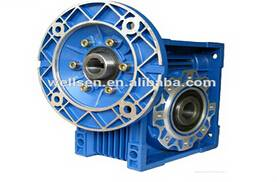 NMRV worm gear speed reducer