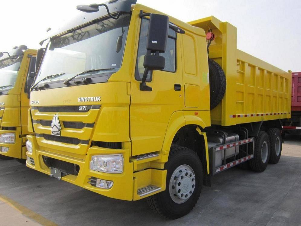 sino truck howo tipper truck