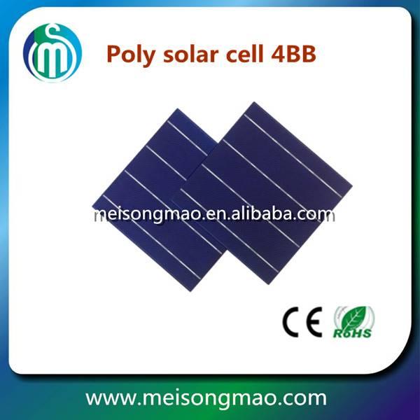 Solar cells 156*156 3bb solar cells polycrystalline solar cells