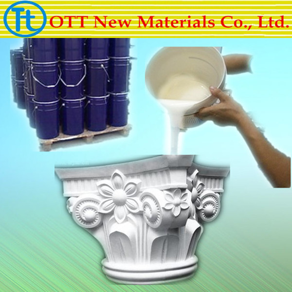 Condensation Silicone Rubber for Making Gypsum Craft