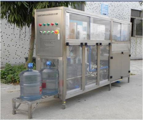Automatic 300 Bottles per Hour 5 gallon bottled water filling equipment