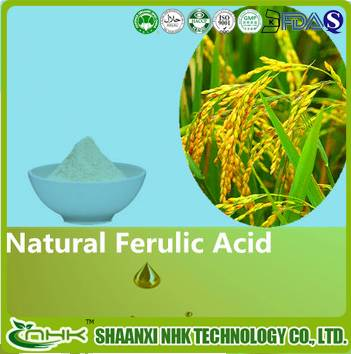 GMP standard China supplier High Quality Pure Ferulic Acid with free sample