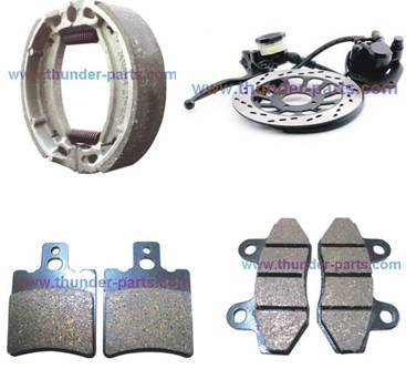 Motorcycle braking parts