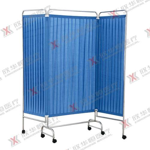 Stainless steel medical folding screen
