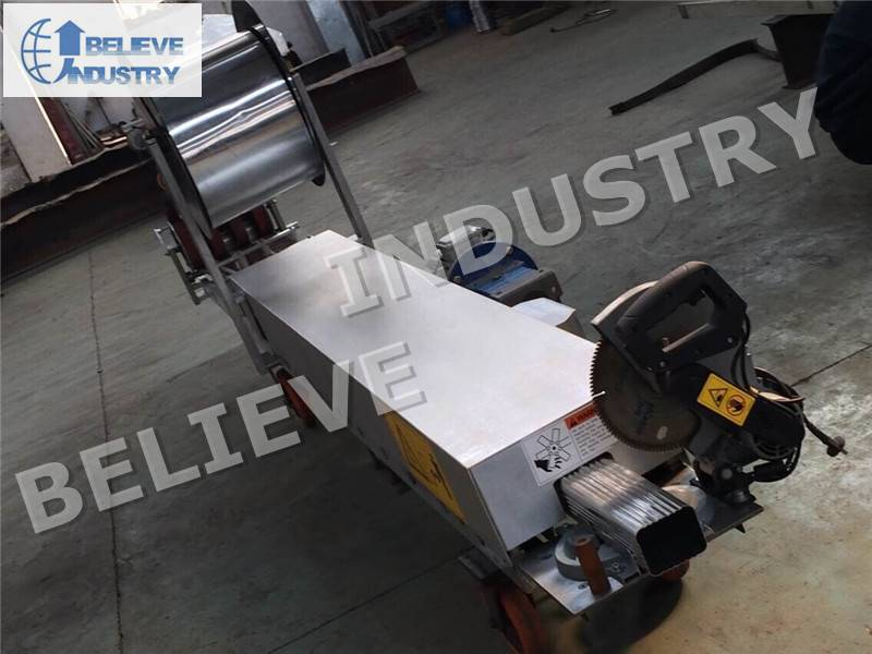 Portable Downpipe Roll Forming Machine