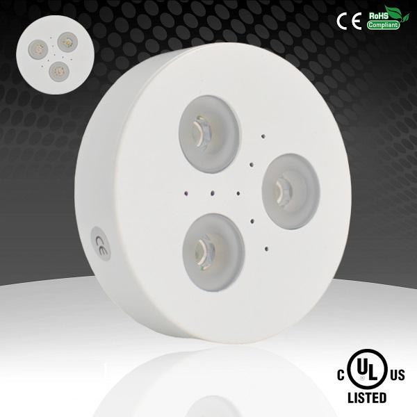 UL Listed Dimmable 12V LED Puck Light Inside Cabinet Lights