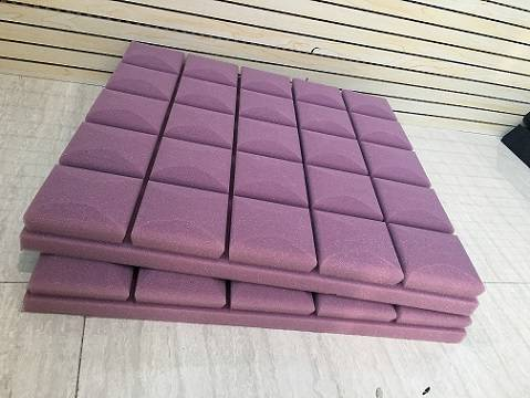 Echo Control Ceiling Foam Panel -Mushroom Hairstyle mushroom acoustic foam sponge