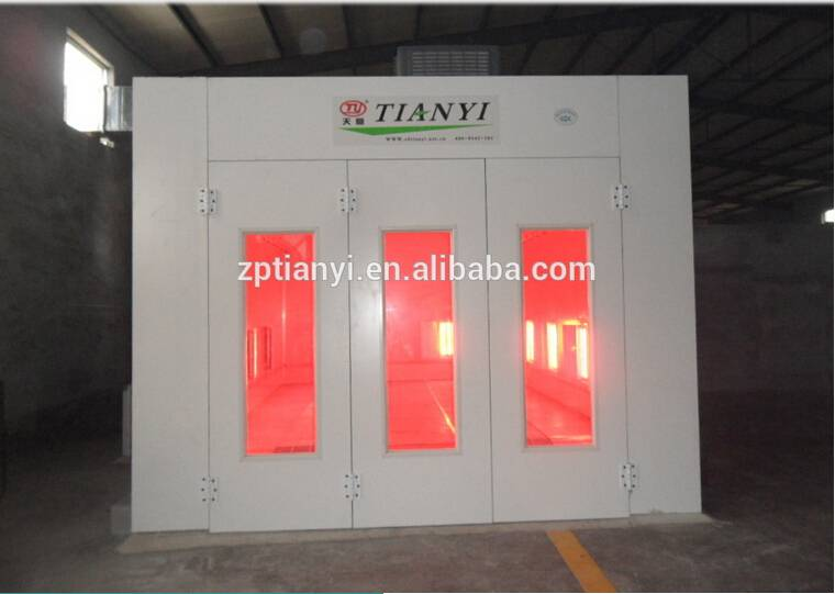 Tianyi car spraying machine/auto body paint booth with CE /powder coating booth