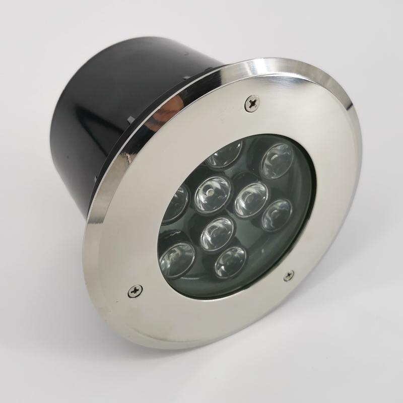 SEENDY hot sale ip68 9w 12W outdoor round led inground underground light