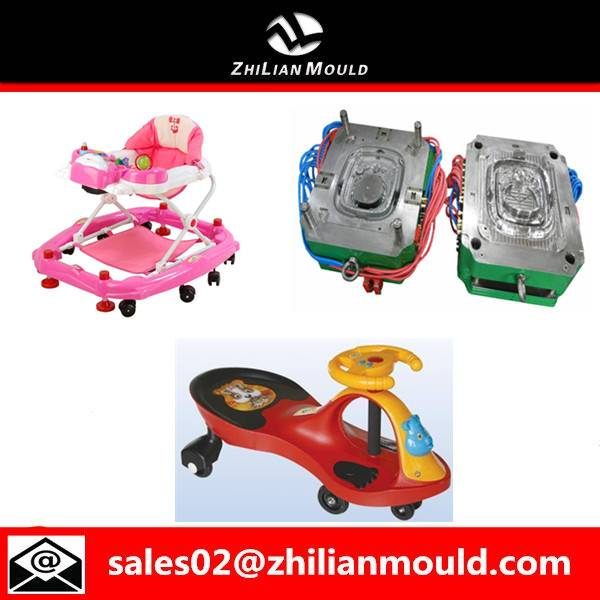 2015 new product safety plastic baby walker toy mould for sales