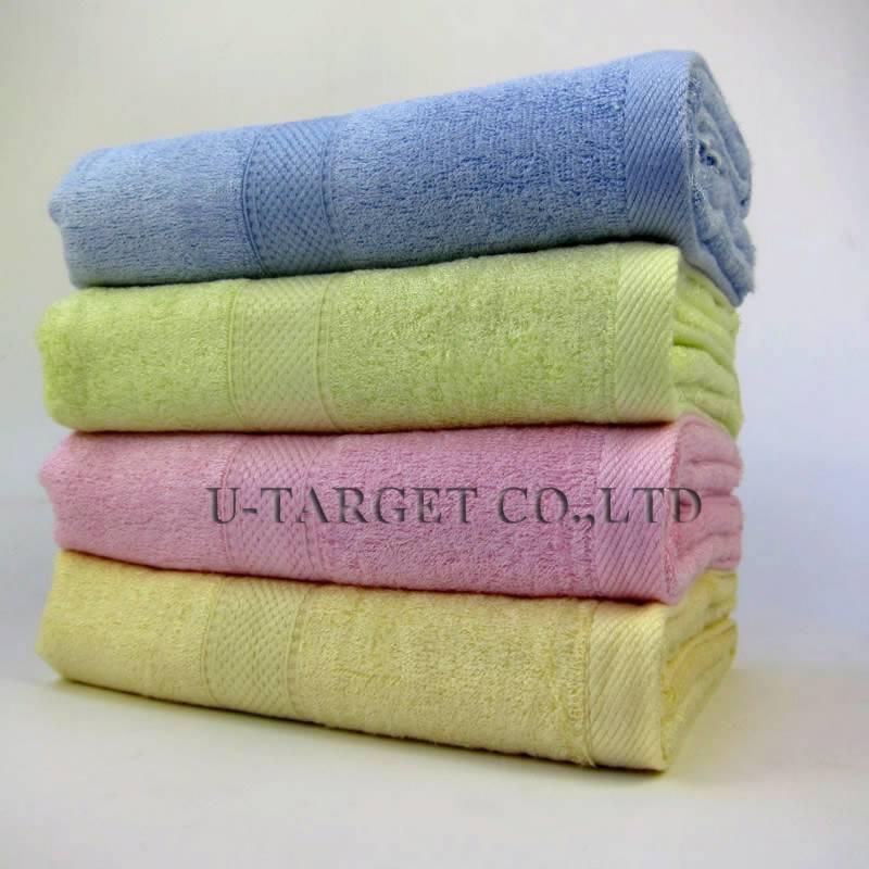 Bamboo Towel Bath Shower Fiber Cotton Super Absorbent Home Hotel Wrap 70x140cm