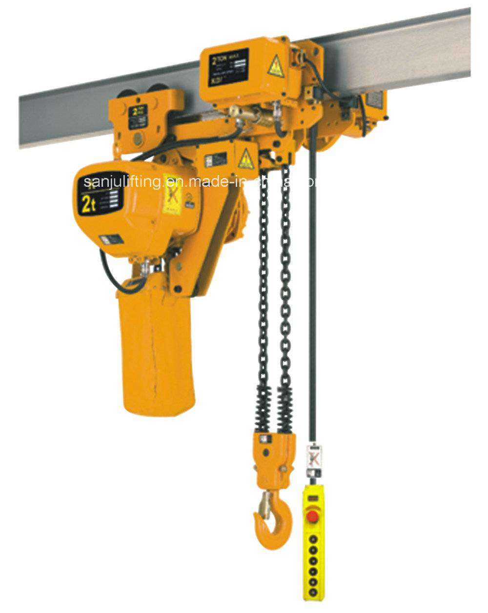 Construction Electric Chain Hoist with Electric Trolley 1t-5t