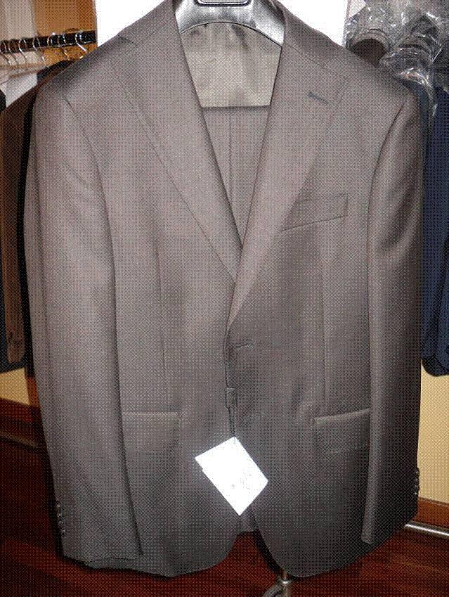 Brioni suits and coats
