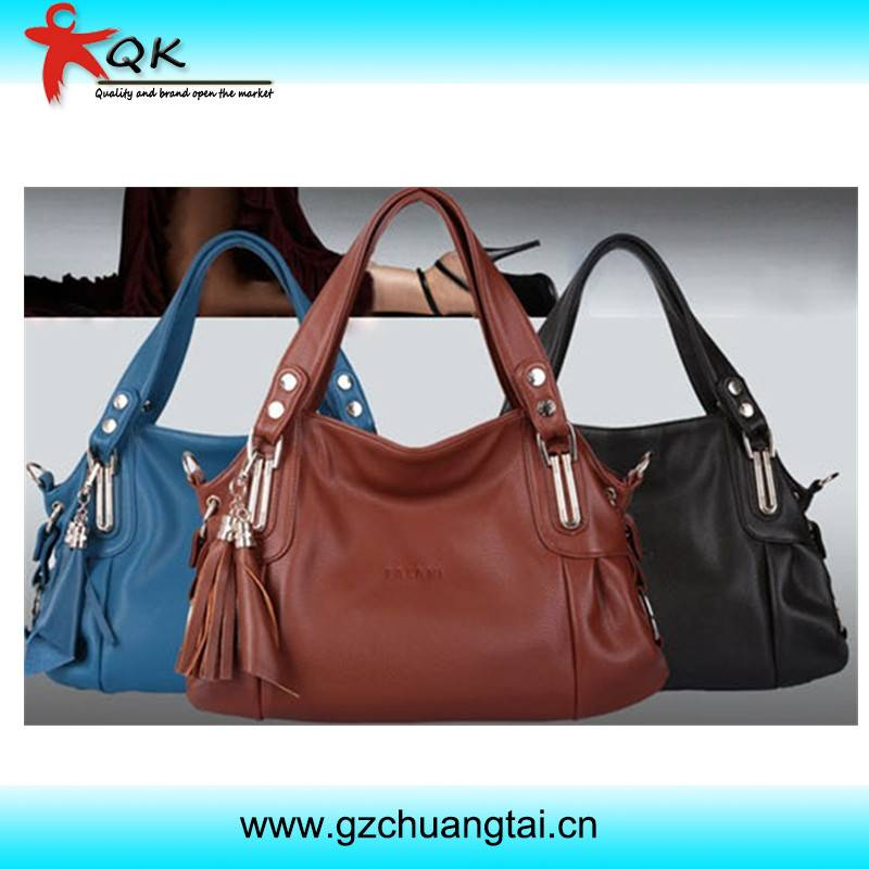 2013 Hot Selling New Design Ladies Leather Satchel Bag