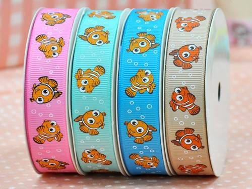 hot sale fashion printed grosgrain ribbon