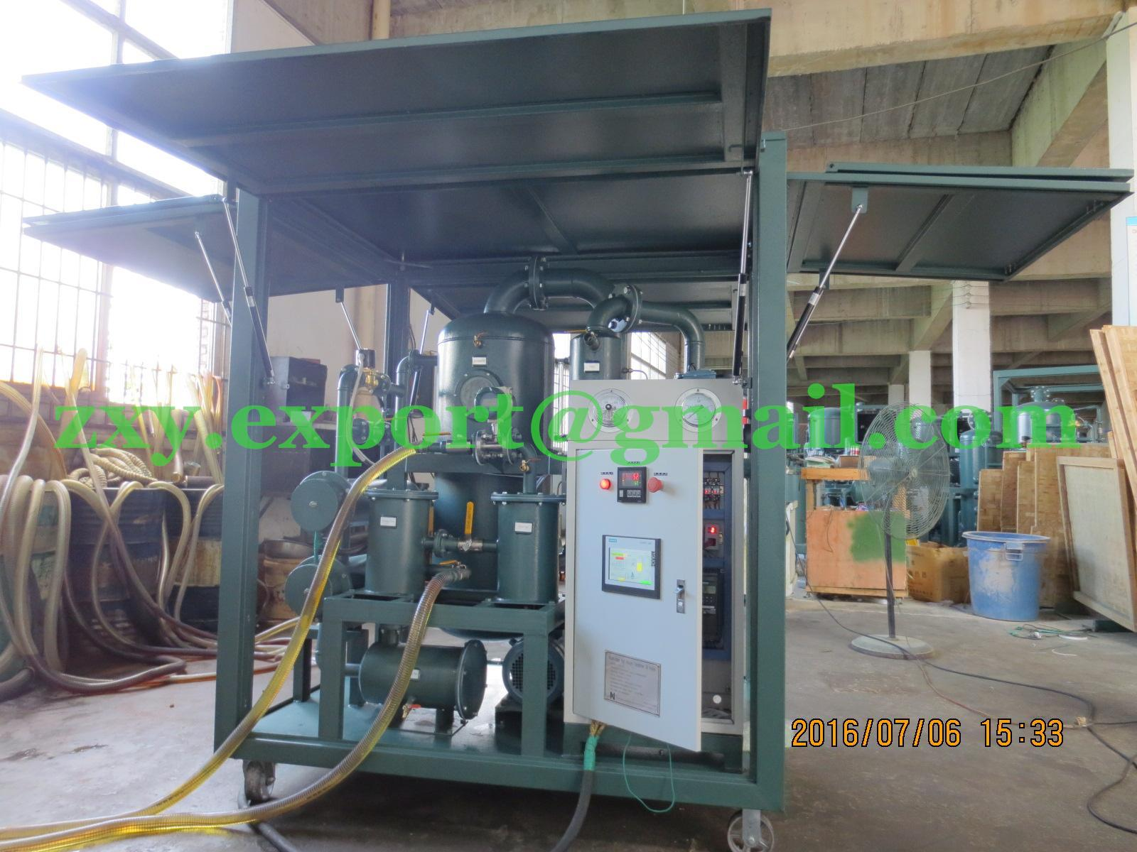 First-class Quality PLC Controlling Transformer Oil Treatment System (oil filter machine)