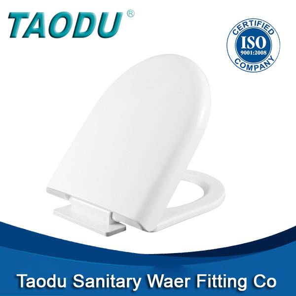 Wholesale cheap price plastic toilet seat cover with soft closingTD-335