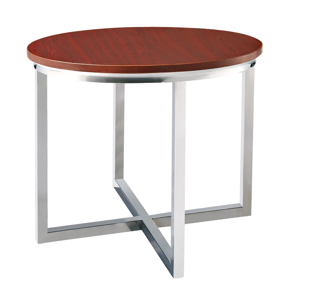 SHIMING FURNITURE MS-3312 modern design round(MDF) top antique side table