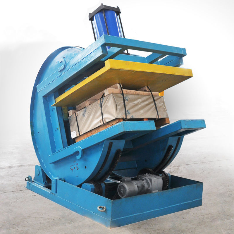 90 Degree Steel Coil Upender Machine