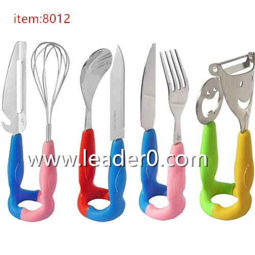 8012 Combination of kids tableware/Cutlery set/Flatware set/silverware