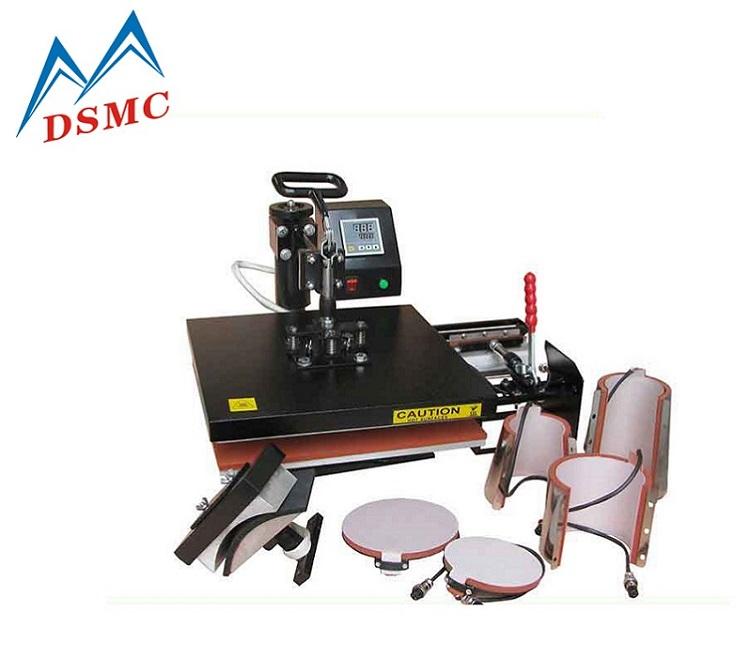 Multifunctional 8 in 1 Heat Transfer Printing Machine