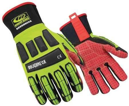 Oil and Gas Industrail Gloves-4232/En388 Ringers Roughneck Gloves 267