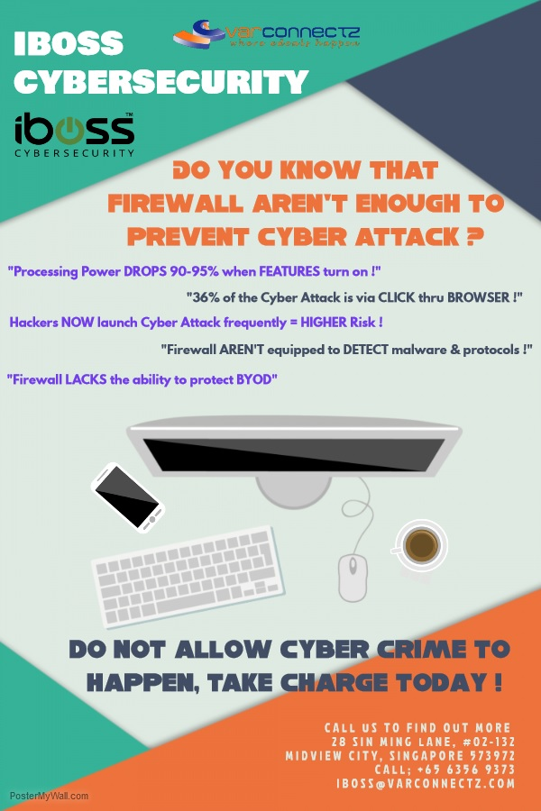Firewall aren't enough against Cyber Crime