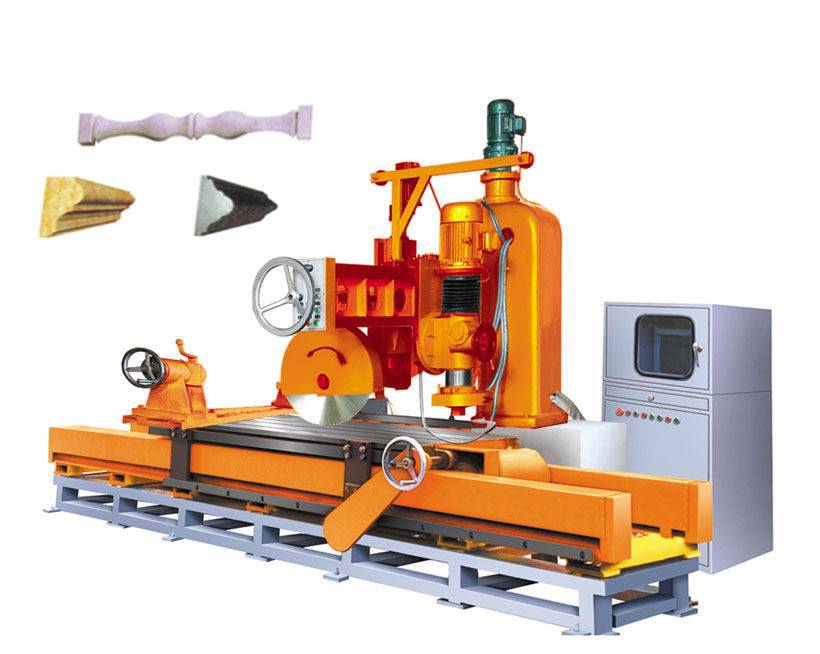 Model DDXQ3000 Multi-function Single-arm Milling and Cutting Machine With Computer