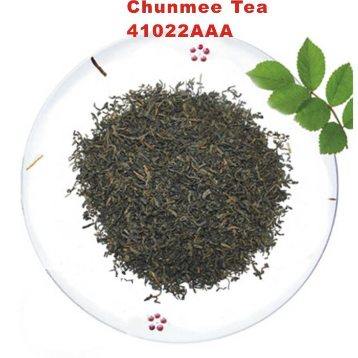High quality Chinese chunmee 41022 green tea  best selling from anhui xuancheng
