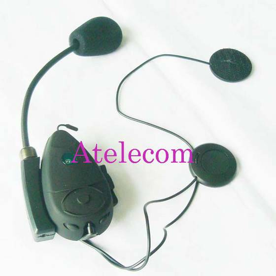 Wireless 500m bluetooth interphone with fm for motorcycle