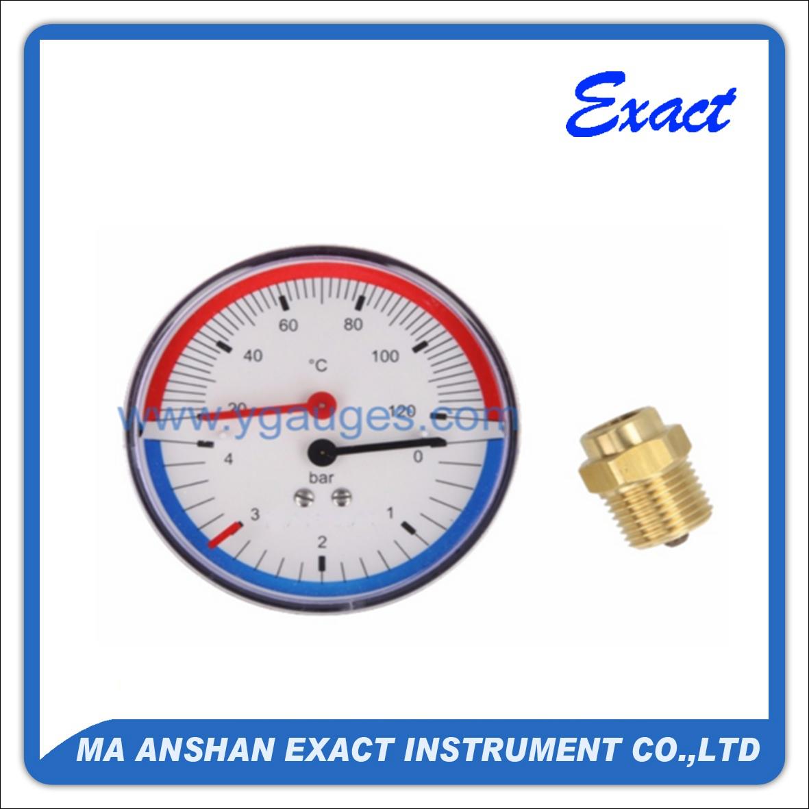 Economy Thermo-manometer
