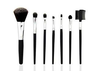 Black makeup brush