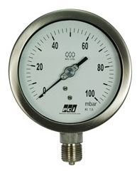 Low Pressure All St/St Capsule Gauges - AX300