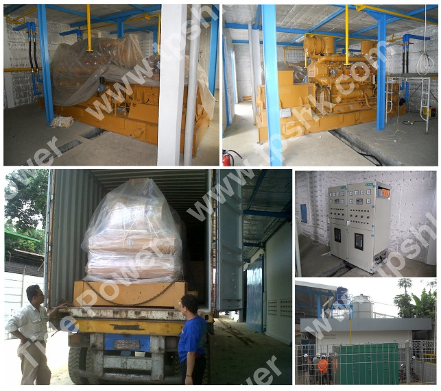 500KW Gas Generator Set China Gas Genset