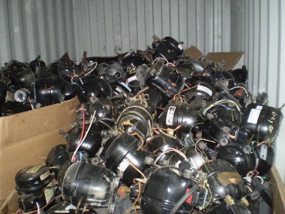 Compressor Scrap, AC-Fridge Compressors Scrap, PET Bottle Scrap