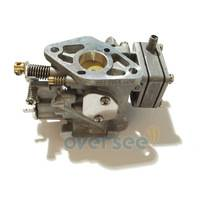 Oversee 63V-14301-10-00 outboard carburetor assy For Yamaha 9.9HP 15HP 2 Stroke Outboard Engine 63V-