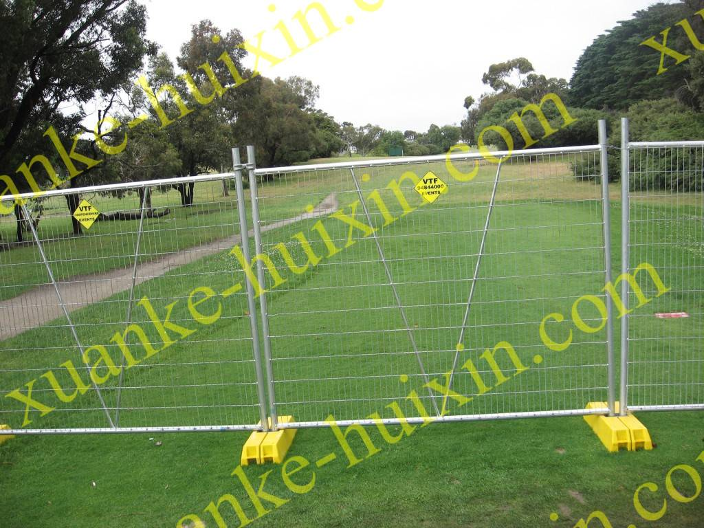 Temporary fence system |safety fencing| temporary fence system