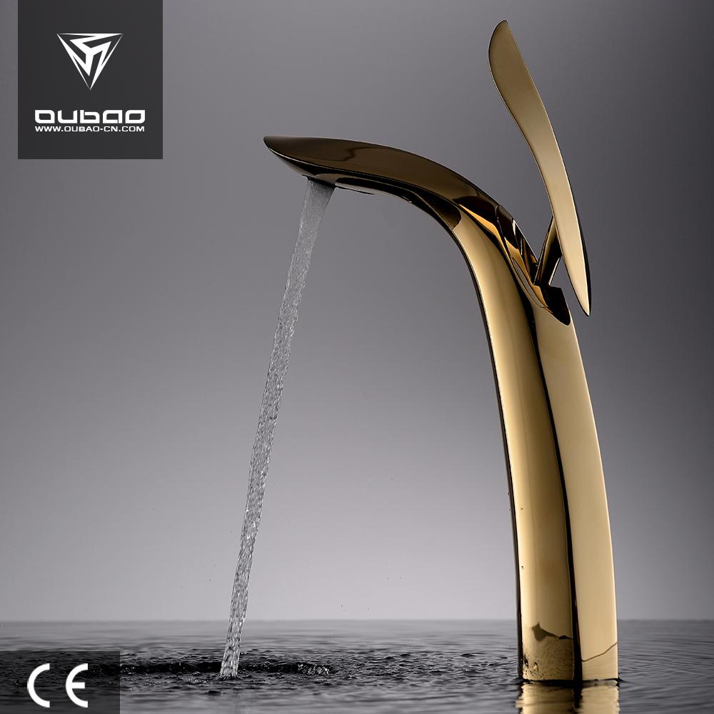 Brass Basin Tap Golden Basin Faucet