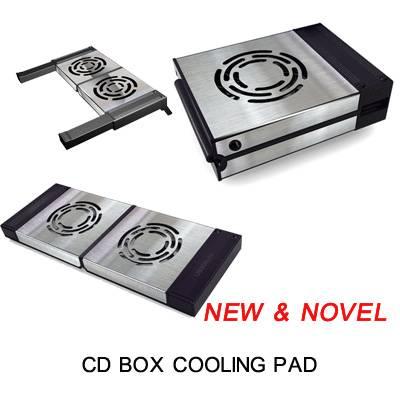 CD BOX COOLING PAD