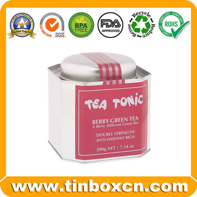Tea Tin,Tea Box,Tea Caddy,Tin Tea Box,Tin Tea Can