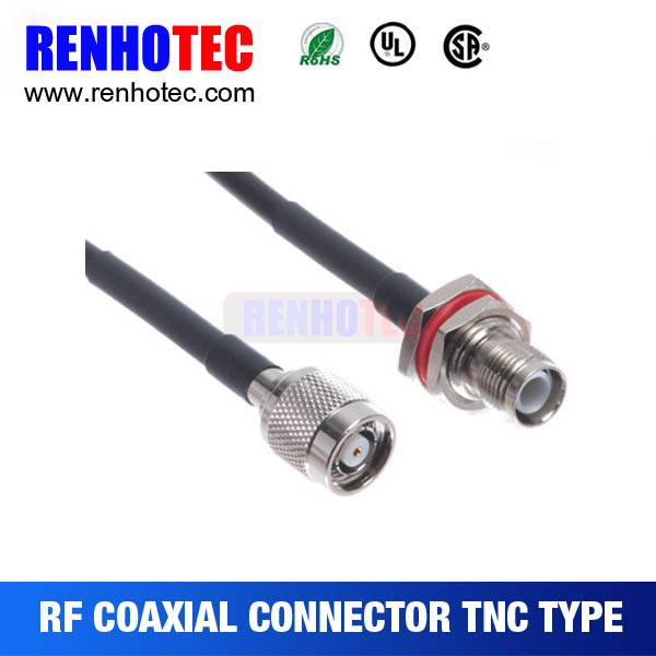 2015 New hot Tnc coaxial cable connector types Jumper cable