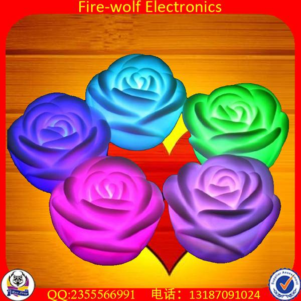 Wholesale colorful gel candle for party