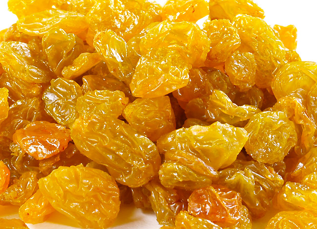 Natural seedless Sultanas