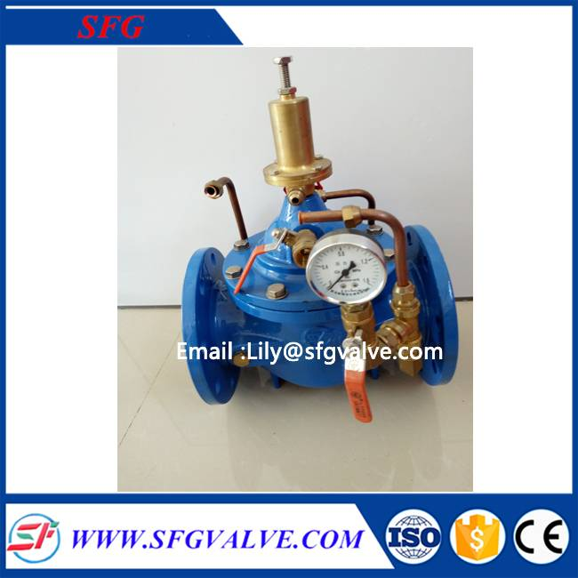 500X holding pressure relief pressure valve made in china