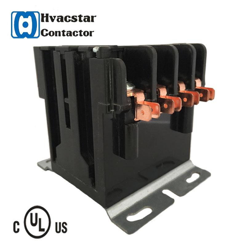 Hvacstar magnetic contacror 40A ac 24v 120v 240v industrial ac contactor