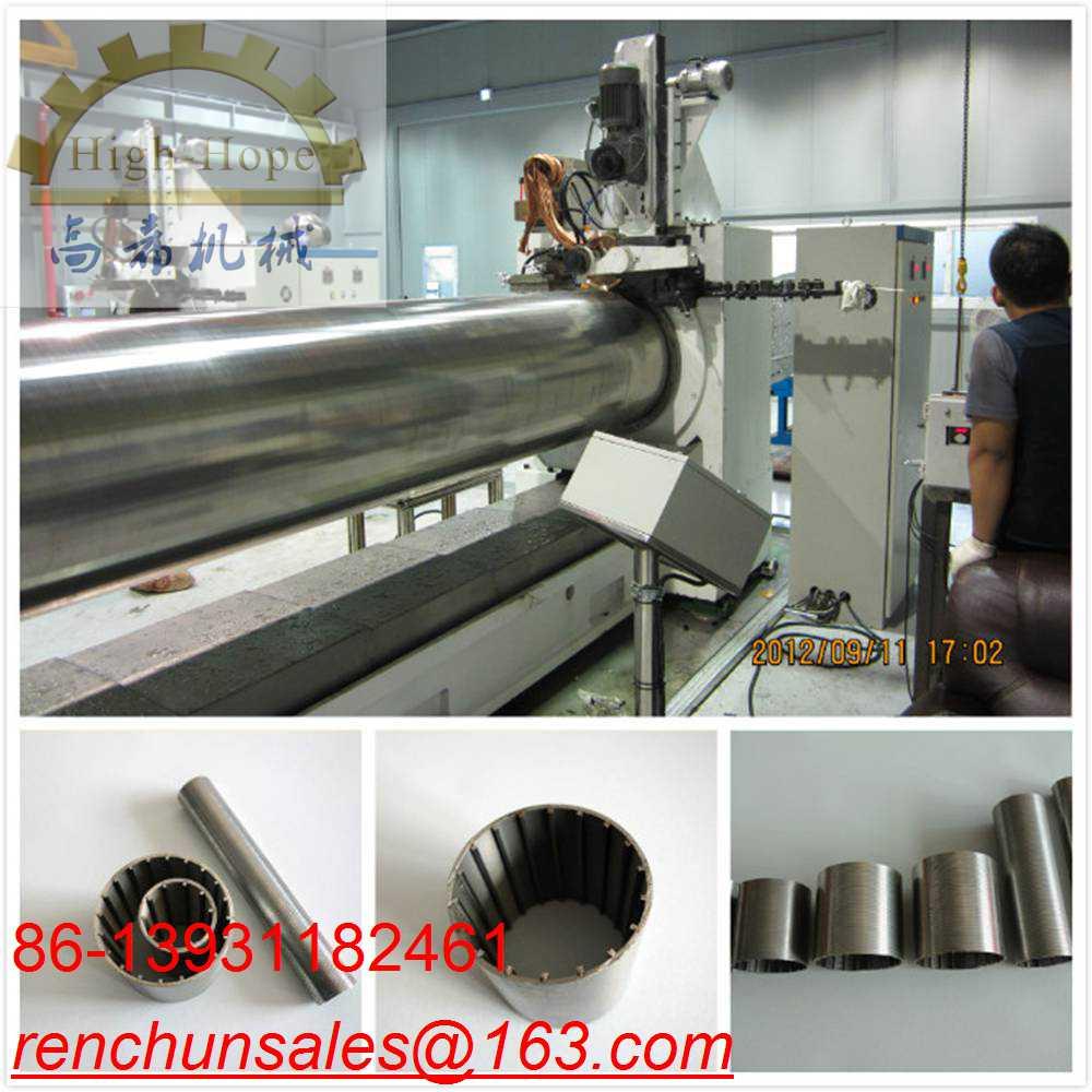 CNC Wedge Wire Mesh Welding Machine 200MM Diamter 50Hz / 60Hz