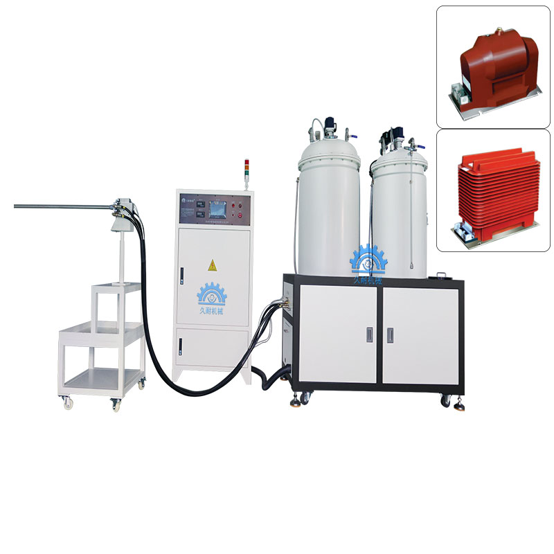 Stable quality vacuum glue filling two component epoxy resin gum glue pouring machine