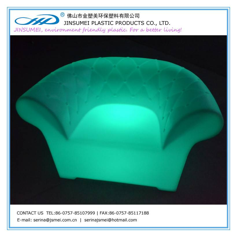 LED single seat sofa
